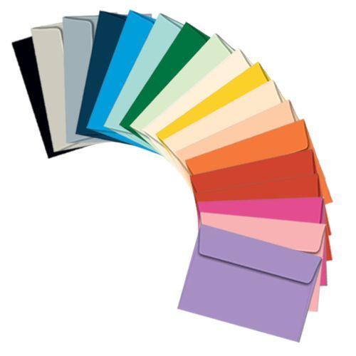 Envelope colorido a4
