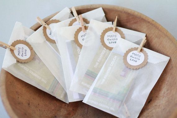 Envelope de papel vegetal