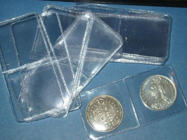 Envelope para moedas