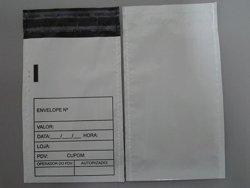 envelope tipo sangria de caixa inviolável